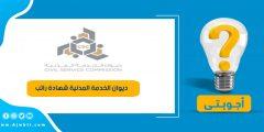 ديوان الخدمة المدنية شهادة راتب
